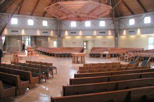 worship space interior