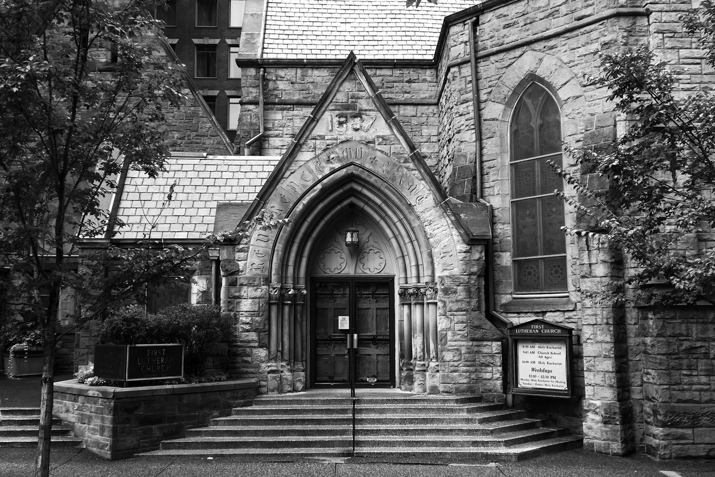 First Lutheran Church Restoration & Renovation Conceptual Plan
