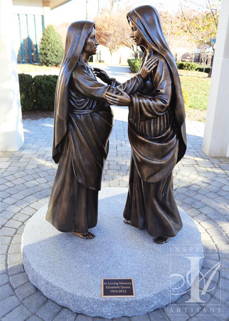 Visitation Sculpture