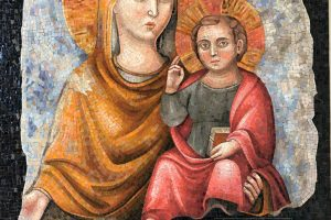 Madonna mosaic