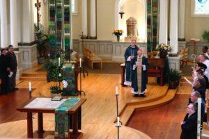 archbishop presiding