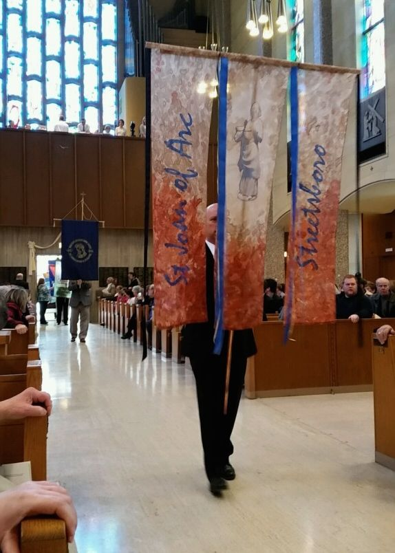 banner in procession