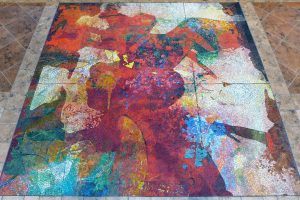 Saint Michael mosaic