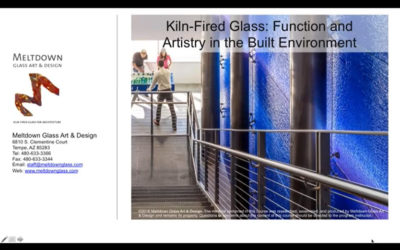 """Kiln Fired Glass Function and Artistry in the Built Environment"" by Peter Hayes"