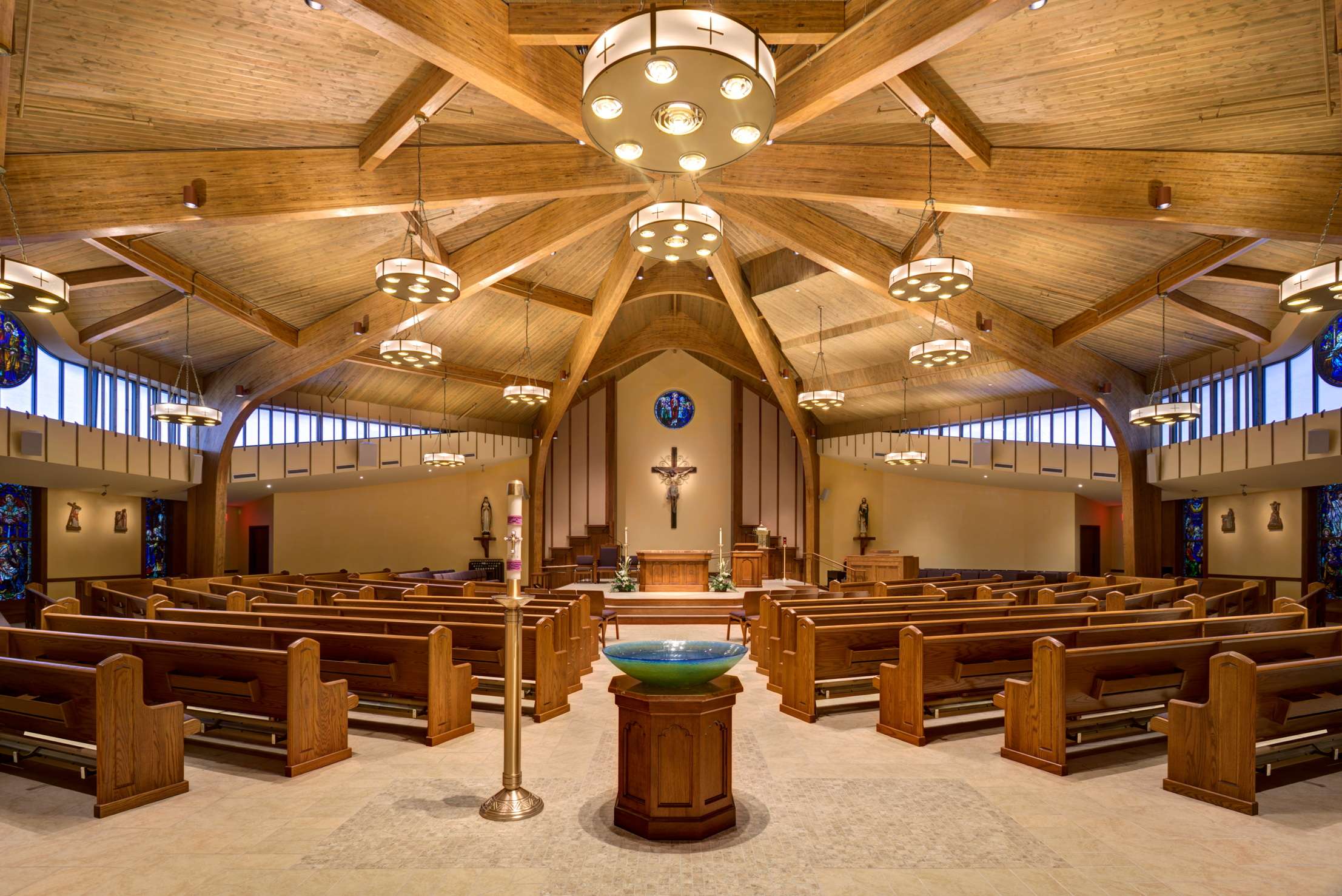 worship space interior