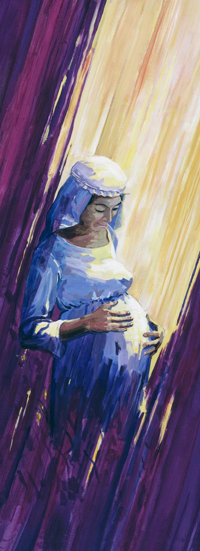 1. Advent Mary © 2008 SLS, Inc.