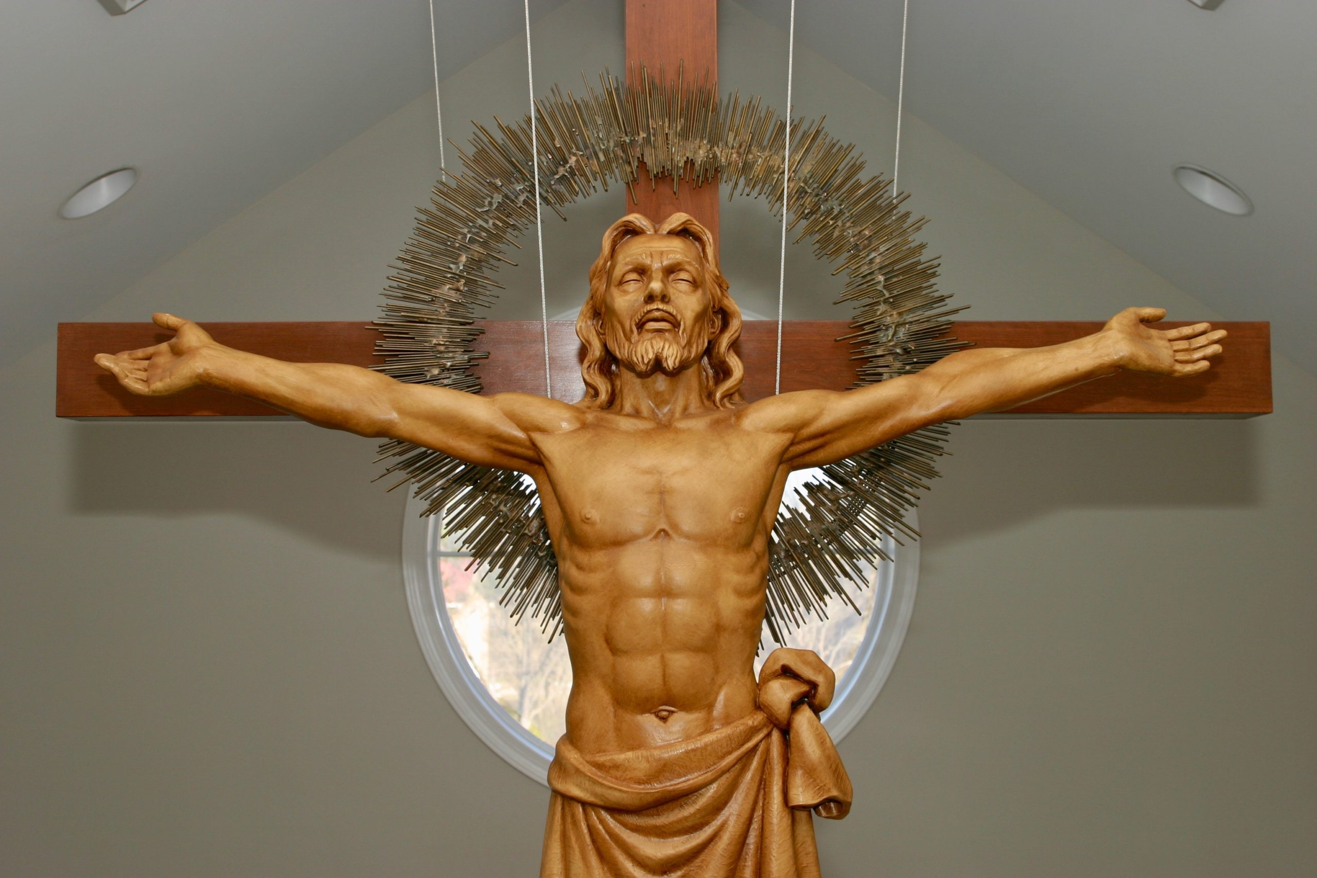 statue of risen christ