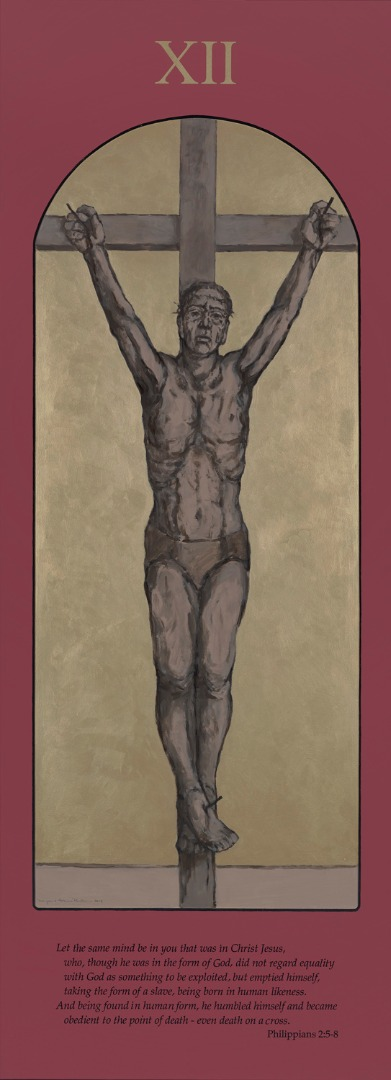 Station XII, Jesus is crucified