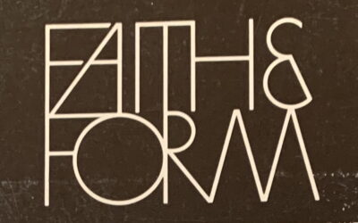 "36 Years of ""Faith & Form"" can be yours!"