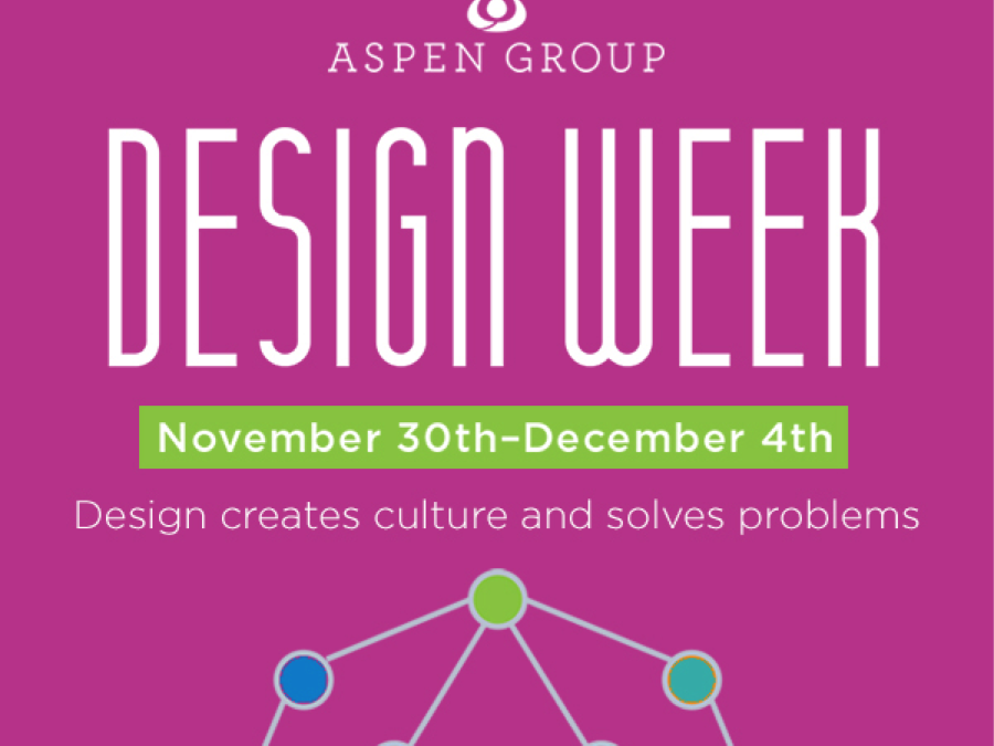 Announcing Design Week! Data + Design = Building for the Future