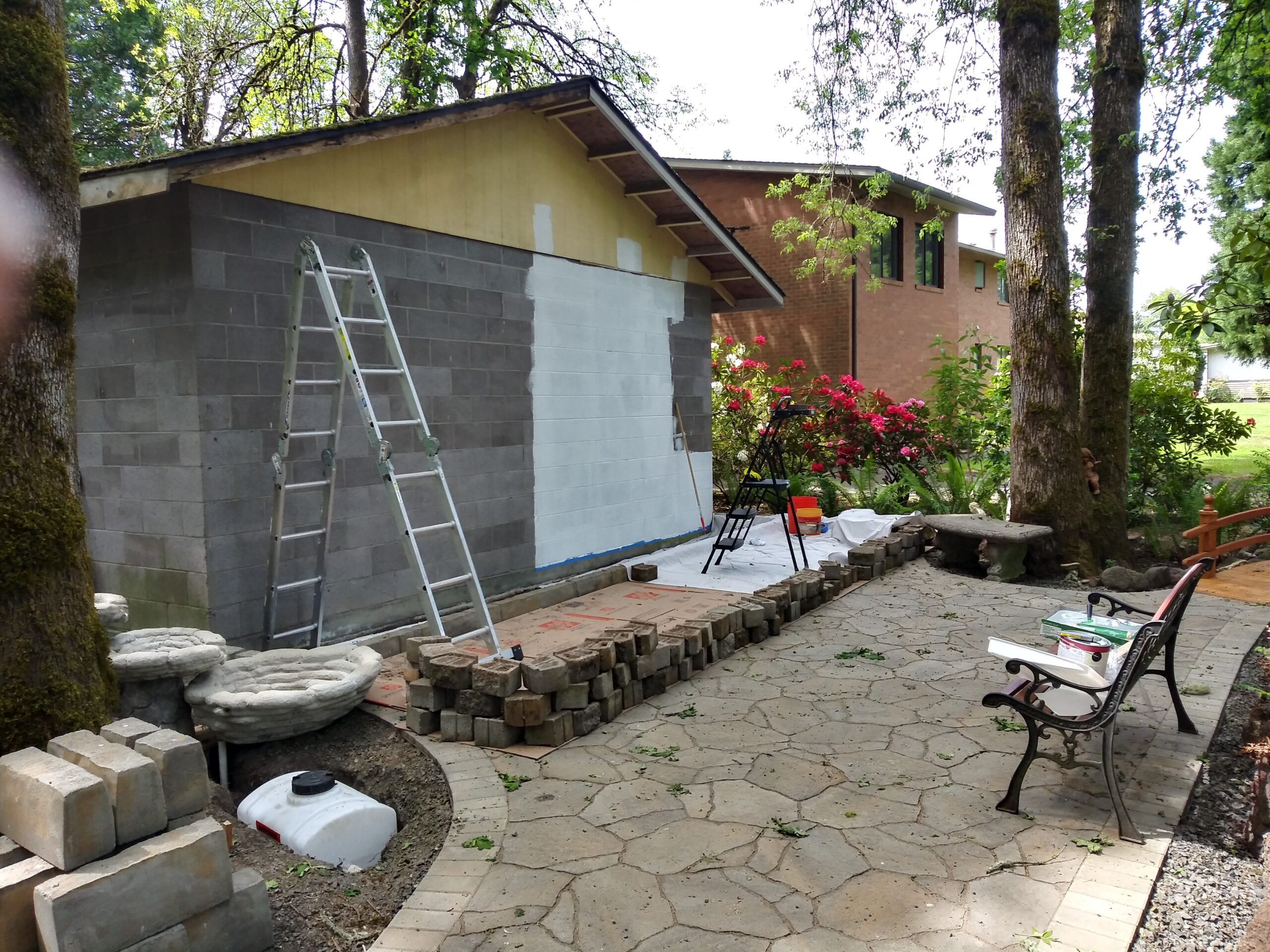 Building - Wall Prep and Paint