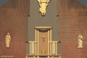 St. Bonaventure Altar Transformation